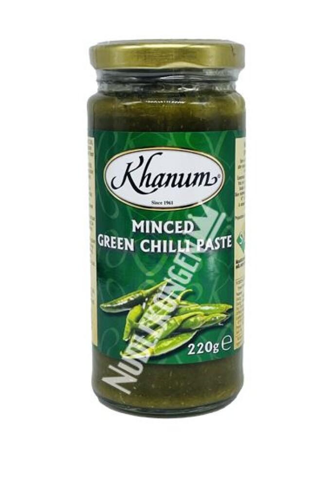 MINCED GREEN CHILI PASTE
