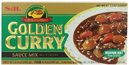 GOLDEN CURRY MEDIUM HOT SAUCE MIX