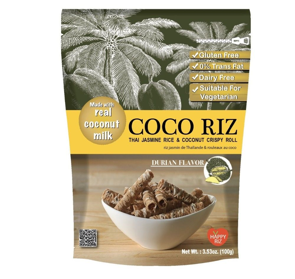 COCONUT CRISPY ROLL - DURIAN