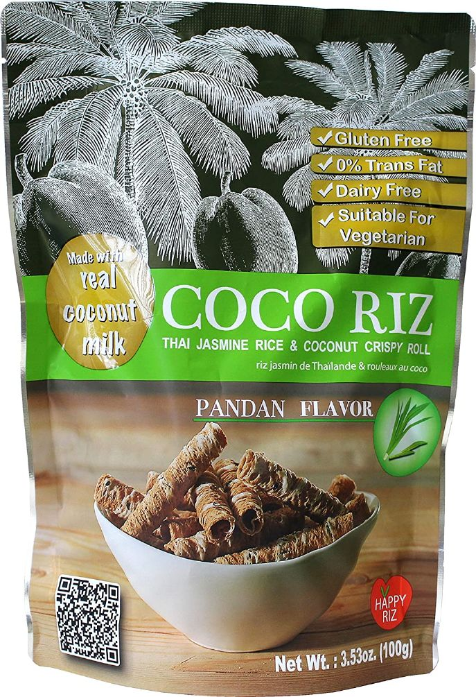 COCONUT CRISPY ROLL PANDAN