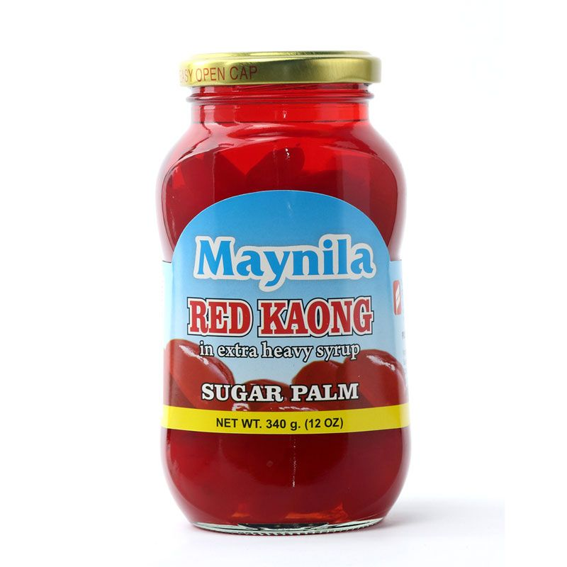 RED SUGAR PALM IN SYRUP