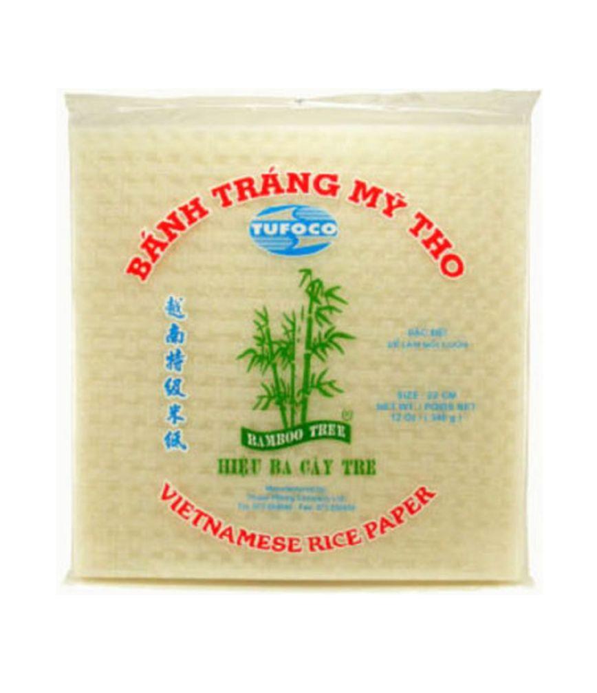 VIETNAMESE RICE PAPER - SQUARE 22 CM