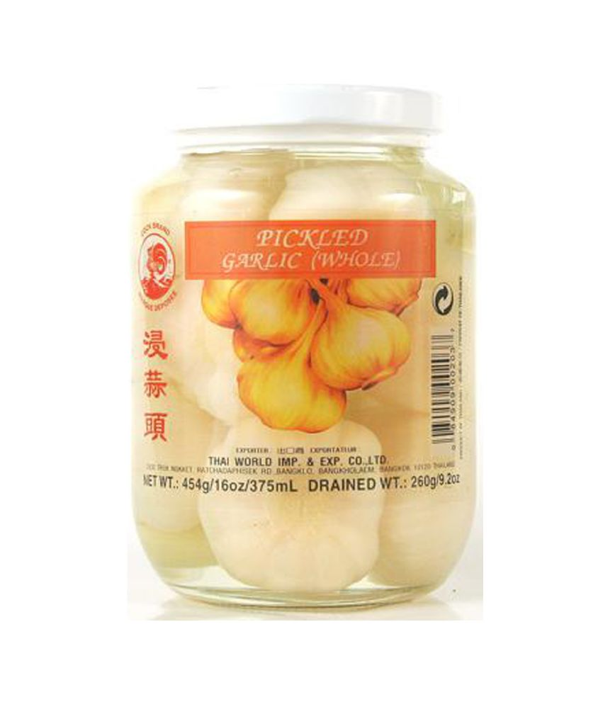 PICKLED WHOLE GARLIC