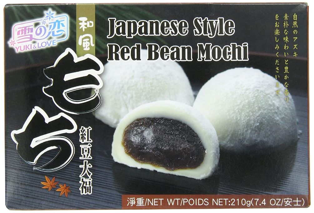 JAPANESE STYLE RED BEAN MOCHI