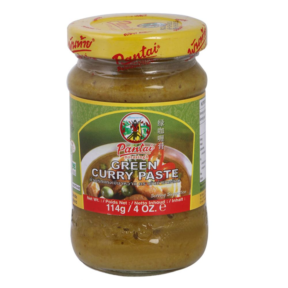 GREEN CURRY PASTE (GLASS)