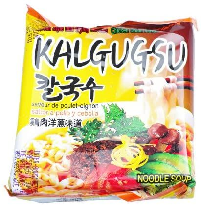 INST. NOODLE KALGUGSU CHICKEN ONION FLV.