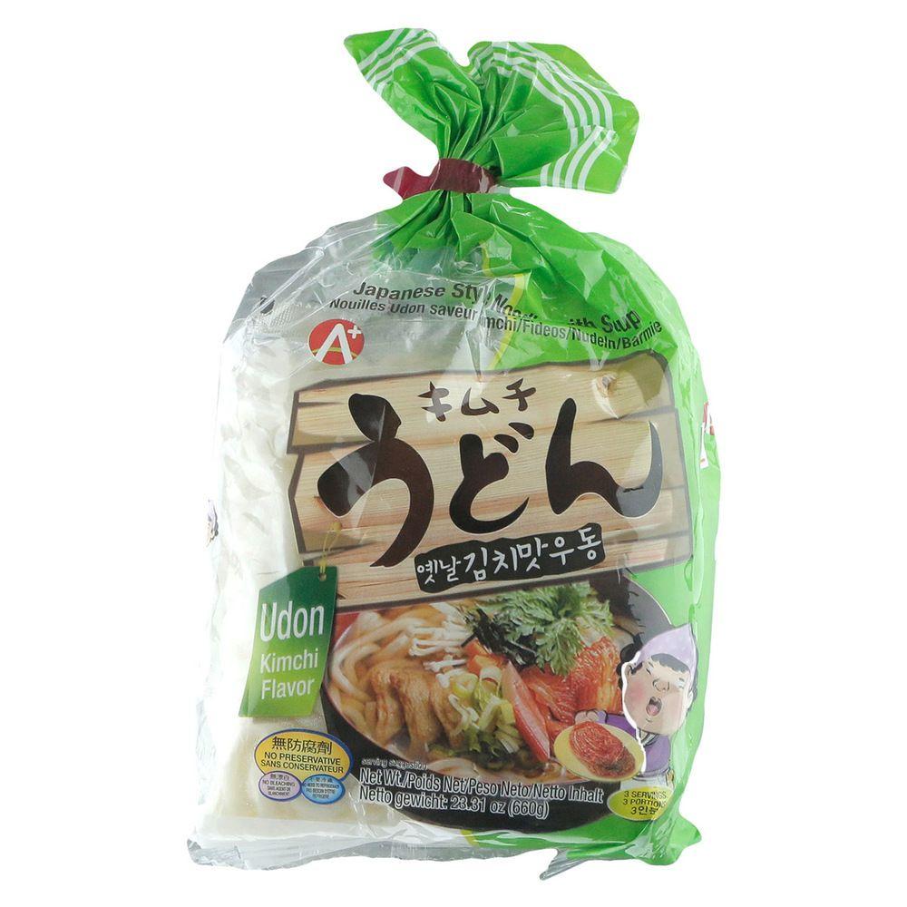 JAPANESE STYLE NOODLE UDON KIMCHI FLV