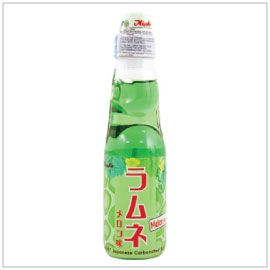 RAMUNE SOFT DRINK MELON