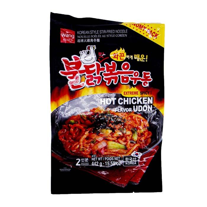 KOREAN STYLE NOODLE HOT CHICKEN FL. UDON
