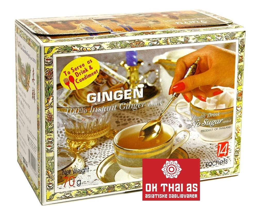 GINGER TEA POWDER 100%, NO SUGAR