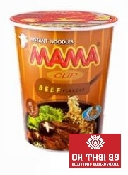 BEEF INSTANT NOODLE IN CUP