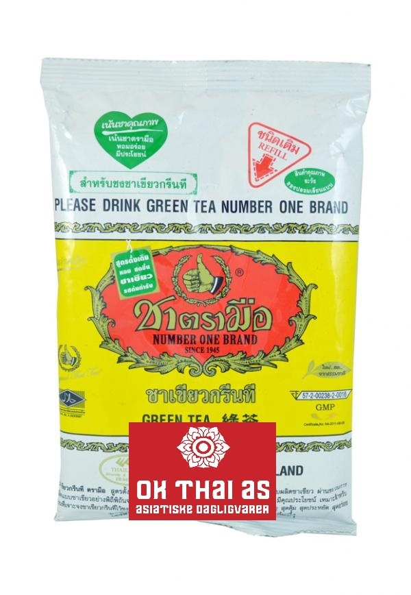 GREEN TEA - YELLOW BAG