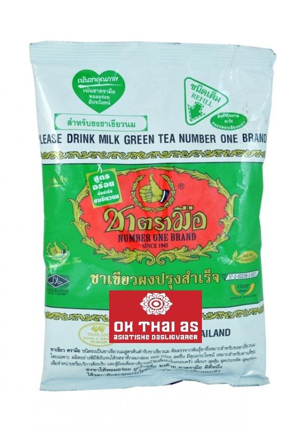 GREEN TEA - GREEN BAG