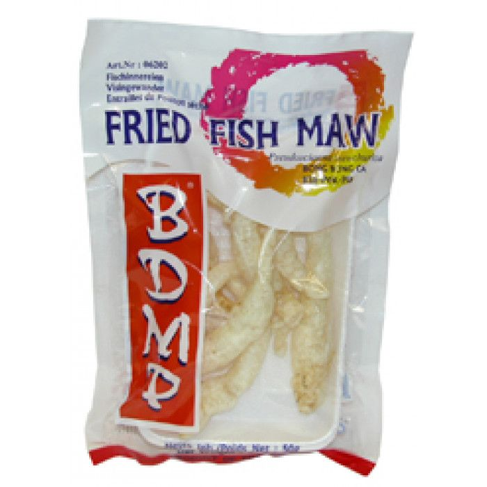 FRIED FISH MAW (FISKEMAGE)